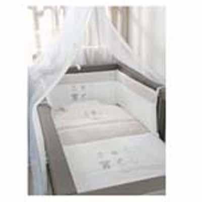 Baby Oliver Σεντόνια Καλαθούνας-λίκνου Little Things 610 Baby Oliver - 610-6704 home   away   λευκά είδη βρεφικά   σέτ προίκας μωρού