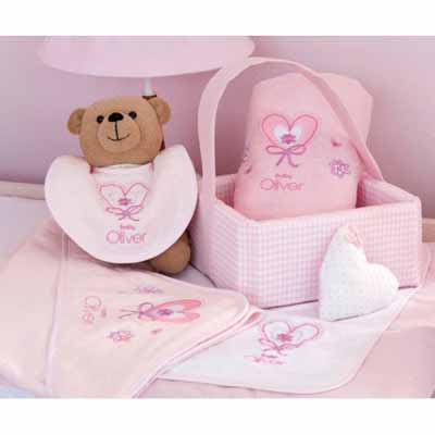 Baby Oliver Καλάθι καλλυντικών baby ballet 611 Baby Oliver - 611-6711 home   away   λευκά είδη βρεφικά   σέτ προίκας μωρού