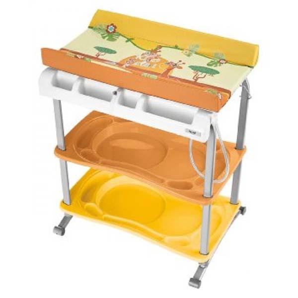 Brevi Μπανιέρα αλλαξιέρα Babidoo Brevi - Safari Kids MAB-5955-57 home   away   αλλαξιερες