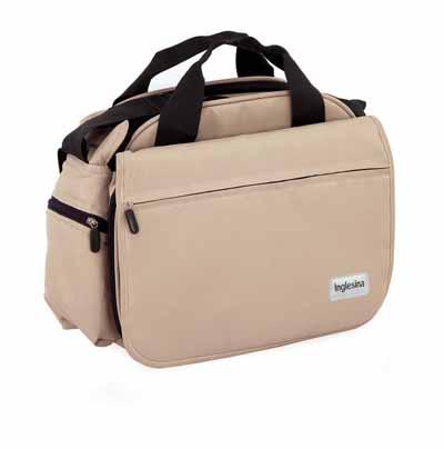 Image of Inglesina My Baby Bag Τσάντα με στρωματάκι αλλαξιέρας Χρώμα Εκρού Inglesina IN202