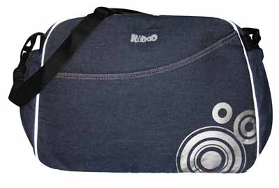 Image of KIDDO Τσάντα Mama Bag Jeans Kiddo 2032