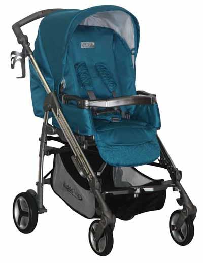 Image of KIDDO Twist Deluxe με τσάντα Kiddo Γαλάζιο 1035-3