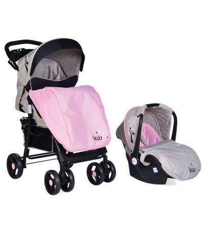 Πολυκαρότσι Lea 2in1 Pink Cangaroo 3800146233631