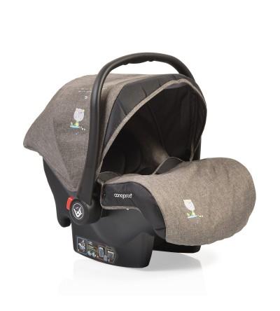 Κάθισμα Αυτοκινήτου Stefanie 0-13kg Grey/Brown Cangaroo βόλτα   ασφάλεια   καθίσματα αυτοκινήτου   βρεφικά καθίσματα ασφαλείας αυτοκινήτ