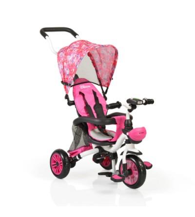 Τρίκυκλο Ποδηλατάκι/Ποδήλατο Ισορροπίας Αναδιπλούμενο με μουσική και φώτα Bloom F1 Pink Byox 3800146242282