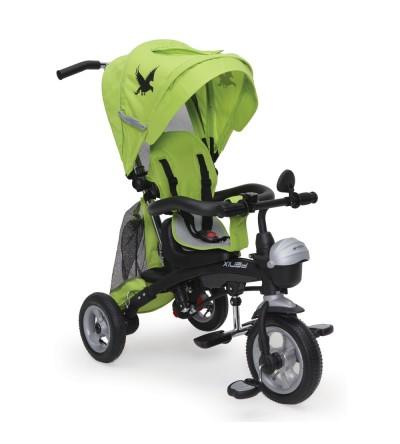 Τρίκυκλο Ποδηλατάκι με φουσκωτά λάστιχα Fenix Green Byox