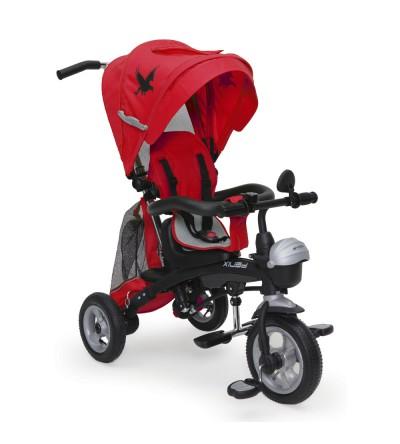 Τρίκυκλο Ποδηλατάκι με φουσκωτά λάστιχα Fenix Red Byox
