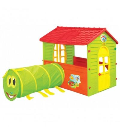 Σπιτάκι - Παιχνίδι με Τούνελ MochToys για το μωρο σας   τα πρώτα του παιχνίδια