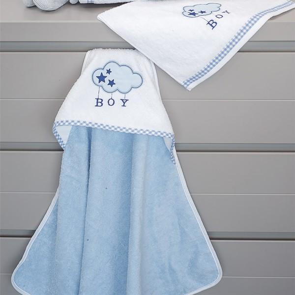 Βρεφική Κάπα Baby Oliver Blue Cloud Des 143