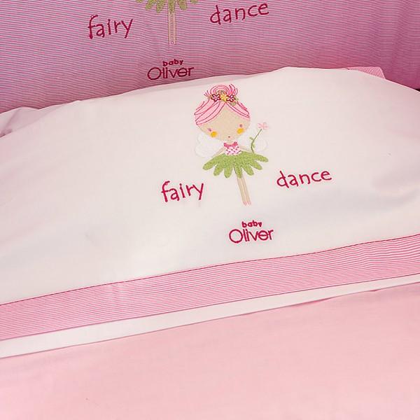 Σεντόνια Κούνιας (Σετ) Baby Oliver Fairy Dance 307 home   away   λευκά είδη   λευκά είδη βρεφικά   σεντόνια βρεφικά