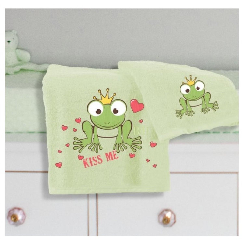 Πετσέτες βρεφικές σετ 2 τμχ 5077 Frog Beauty Home