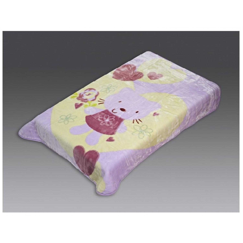 Κουβέρτα βρεφική βελουτέ 110Χ140 Beauty Home 5040 home   away   λευκά είδη   λευκά είδη βρεφικά   κουβέρτες βρεφικές