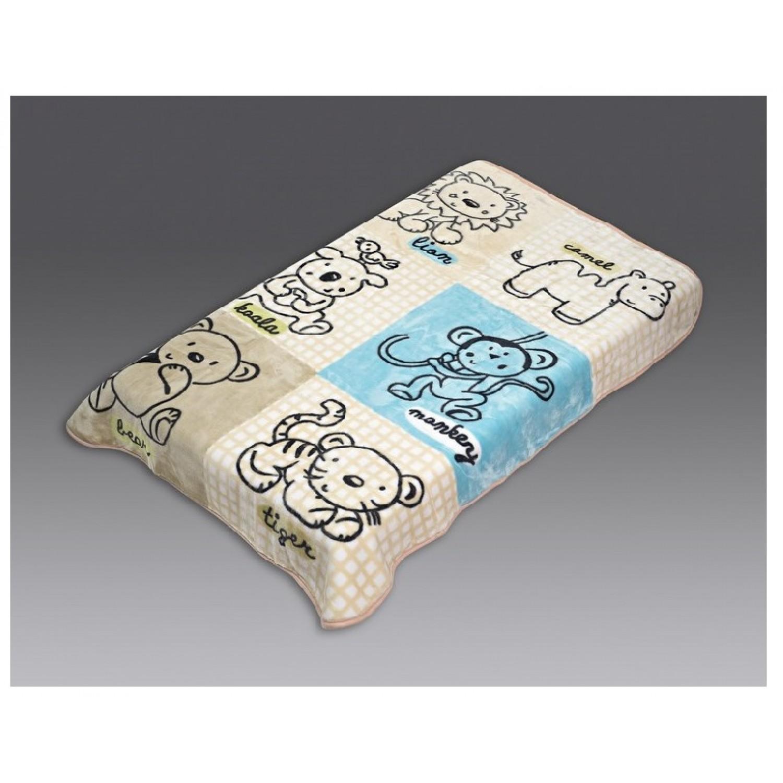 Κουβέρτα βρεφική βελουτέ 110Χ140 Beauty Home 5043 home   away   λευκά είδη   λευκά είδη βρεφικά   κουβέρτες βρεφικές