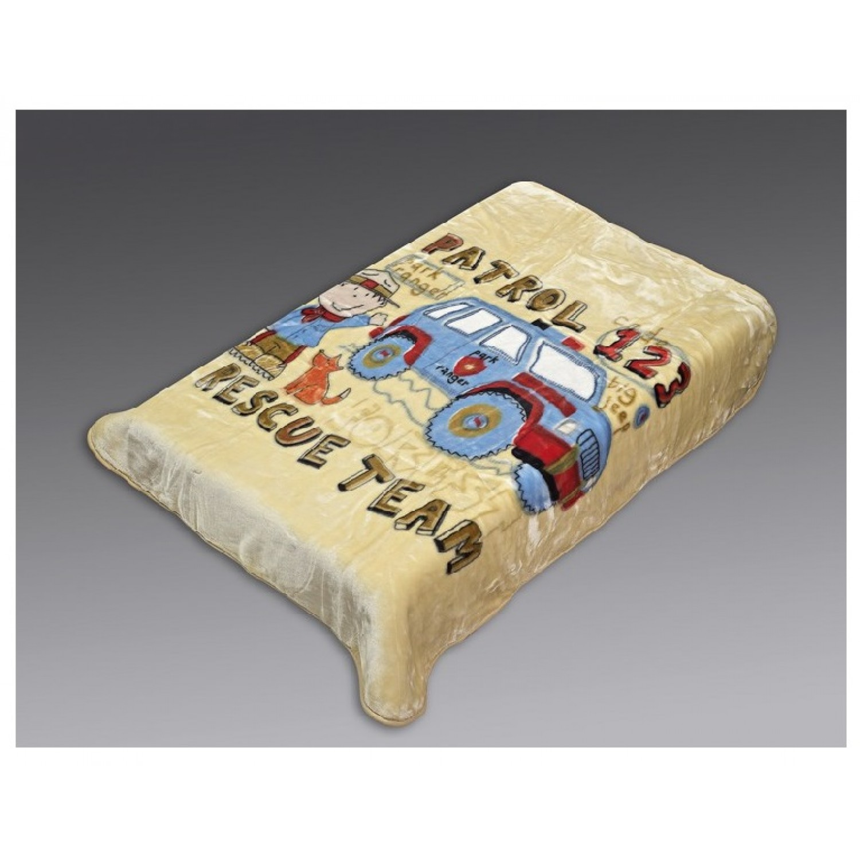 Κουβέρτα βρεφική βελουτέ 110Χ140 Beauty Home 5041 home   away   λευκά είδη   λευκά είδη βρεφικά   κουβέρτες βρεφικές