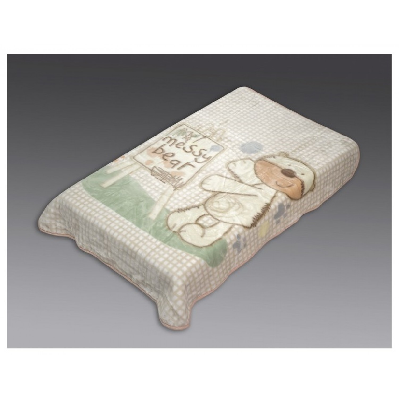 Κουβέρτα βρεφική βελουτέ 110Χ140 Beauty Home 5042 home   away   λευκά είδη   λευκά είδη βρεφικά   κουβέρτες βρεφικές