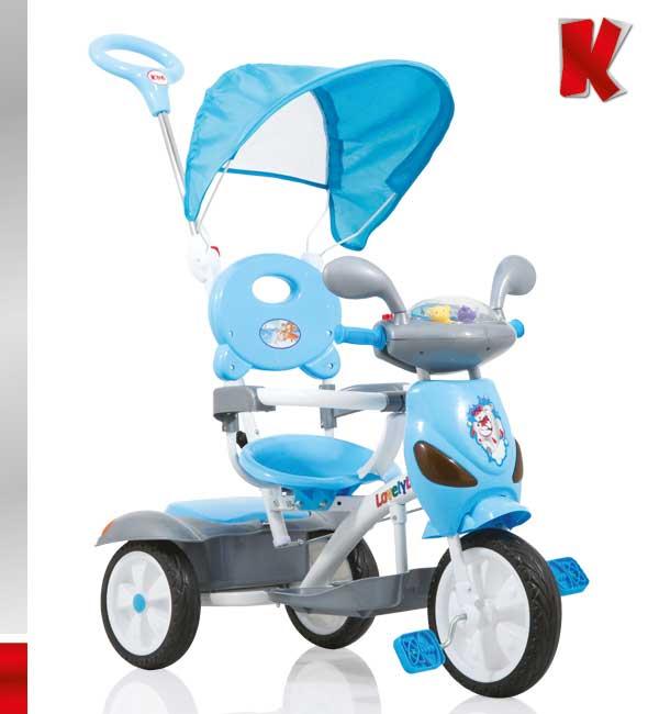 Ποδηλατάκι Vespa Blue Kiddo 12012-5 βόλτα   ασφάλεια   ποδήλατα   τρίκυκλα ποδήλατα
