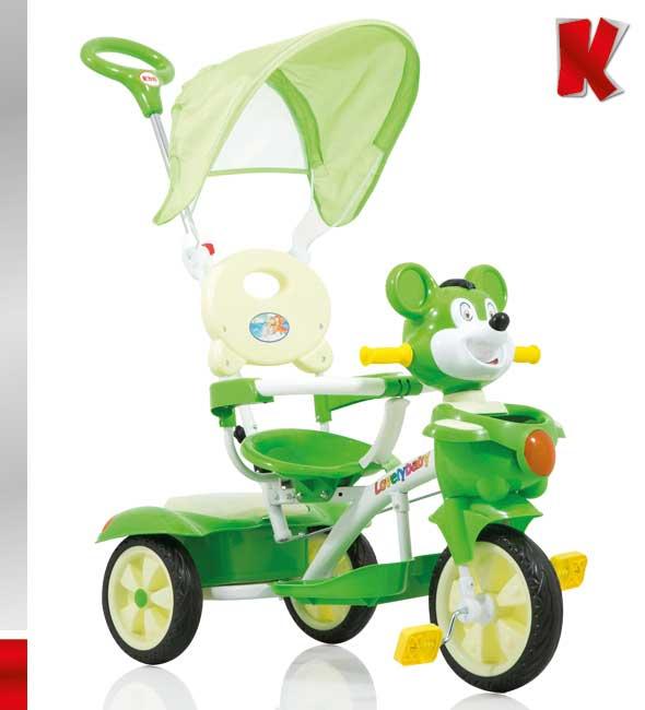Τρίκυκλο Ποδηλατάκι Teddy Bear Kiddo 12013 1