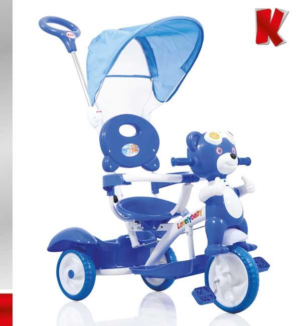 Ποδηλατάκι Pilot Bear Blue Kiddo 12014-5 βόλτα   ασφάλεια   ποδήλατα   τρίκυκλα ποδήλατα