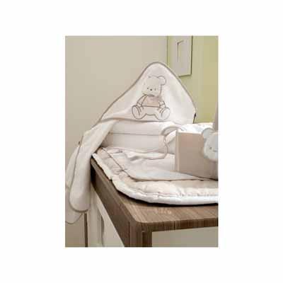 Σετ πετσετών 2τεμ.Bear Beige 134 Pierre Cardin Pierre Cardin bebe home   away   λευκά είδη βρεφικά   βρεφικές πετσέτες