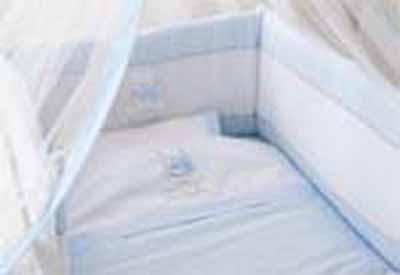 Σετ πάπλωμα πάντα κουνουπιέρα Bear Ciel 135 Pierre Cardin home   away   λευκά είδη βρεφικά   σέτ προίκας μωρού