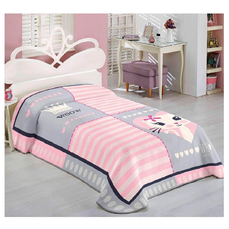 Beauty Home Κουβέρτα παιδική Κουβέρτα Μονή 160Χ220 Βαμβάκι 100% 9505 home   away   λευκά είδη   λευκά είδη παιδικά   κουβέρτες παιδικές