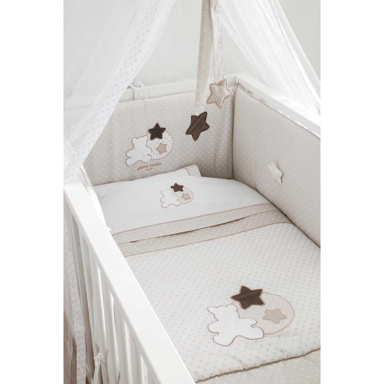 Σεντόνια σετ 3τεμ. 137 Star Pierre Cardin home   away   λευκά είδη βρεφικά   βρεφικά σεντόνια