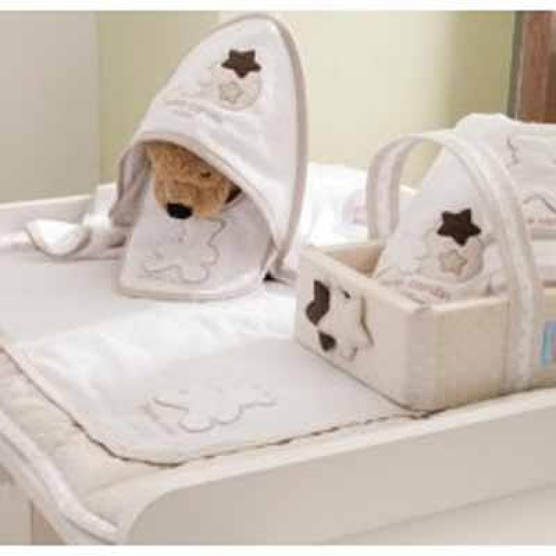 Σαλιάρα Bear Beige 137 Pierre Cardin - home   away   λευκά είδη   λευκά είδη βρεφικά   σέτ προίκας μωρού
