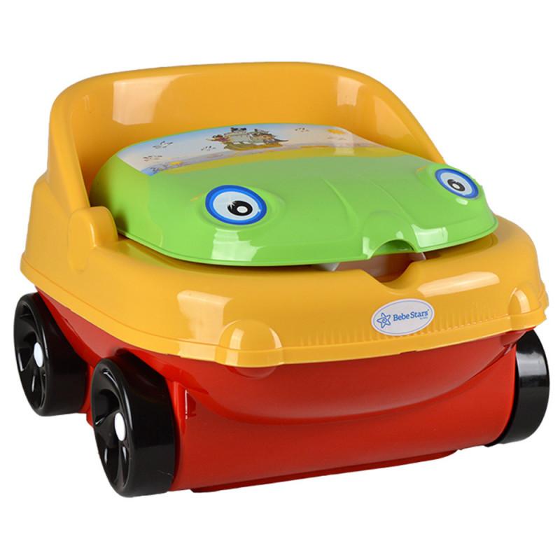 Κάθισμα Musical Yellow Car 73-176 Bebe Stars