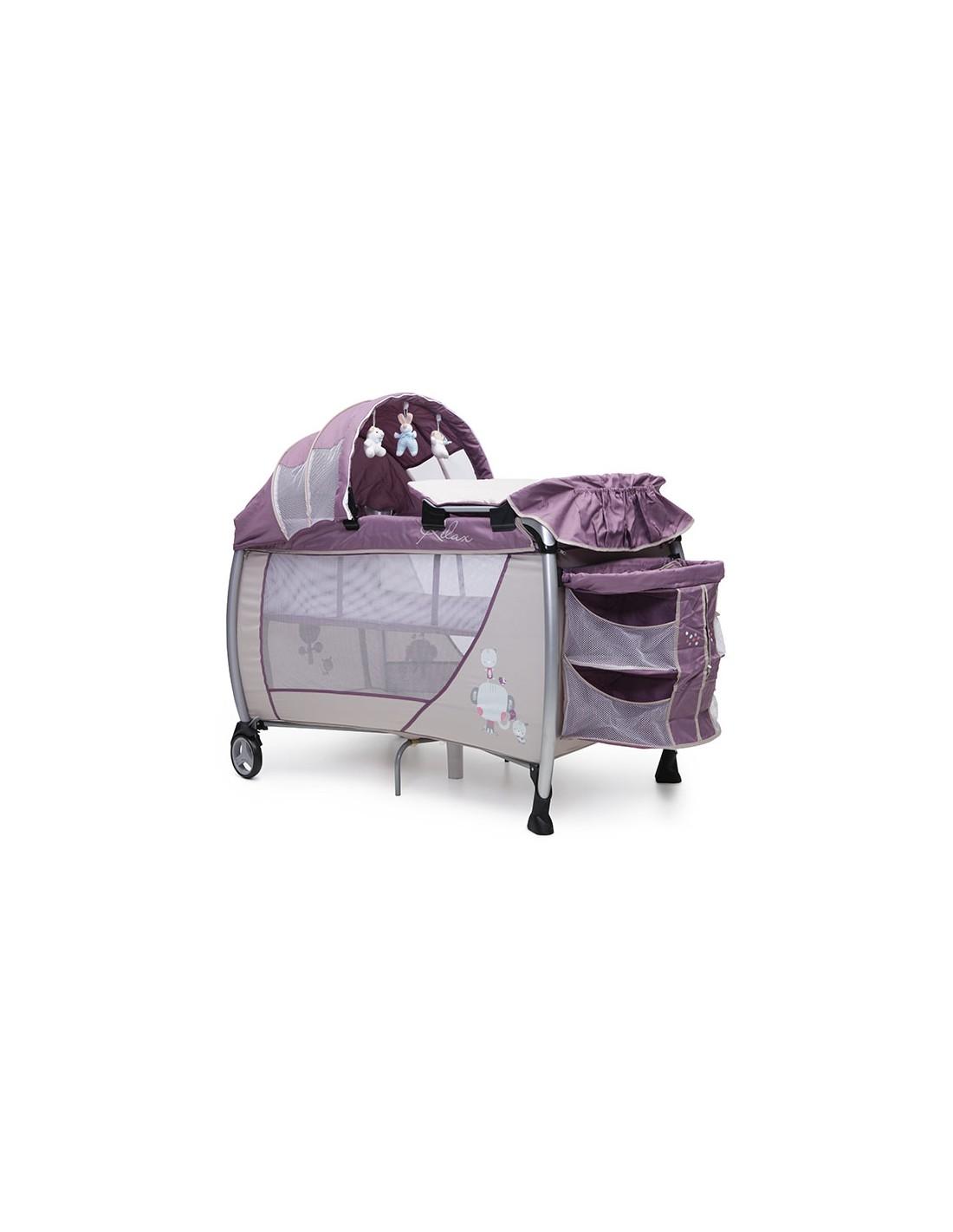 Παρκοκρέβατο Relax Cangaroo purple