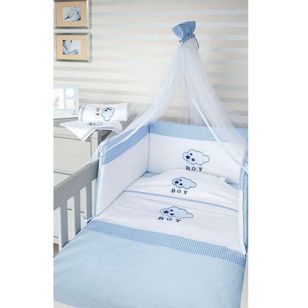 Baby Oliver Σετ προίκας μωρού Blue cloud des.143