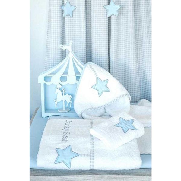 Baby Oliver Κάλυμμα αλλαξιέρας Lucky star blue des.309
