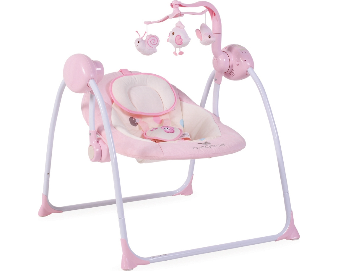 Ριλάξ κούνια  Baby Swing Plus Pink Cangaroo
