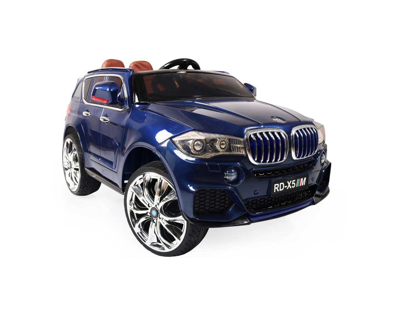 Ηλεκτροκίνητο Αυτοκίνητο 12V Jeep BMW M5X RD500 Eva Wheels Blue Moni
