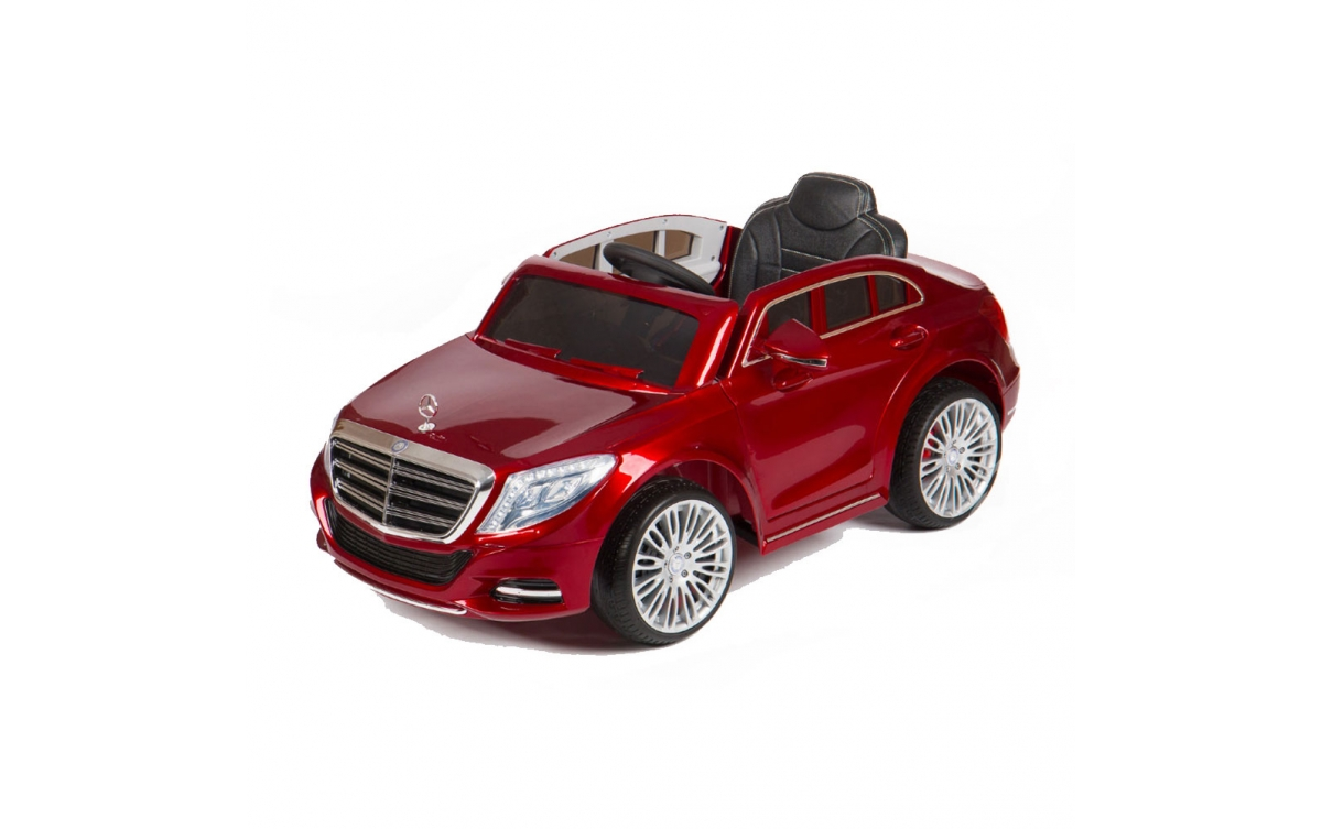 Ηλεκτροκίνητο Αυτοκίνητο 12V Mercedes-Benz S-Class ZP8003 Eva Wheels Moni Red Moni