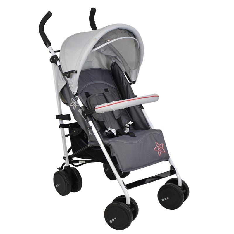 Καρότσι Smart Bebe Stars Grey 184-186 βόλτα   ασφάλεια   μετακινηση με καροτσι   παιδικά καρότσια ελαφριού τύπου