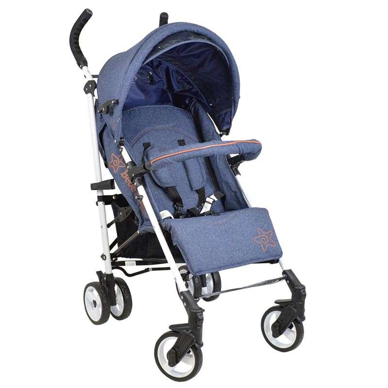 Καρότσι Adam Bebe Stars Jean 185-181 βόλτα   ασφάλεια   μετακινηση με καροτσι   παιδικά καρότσια ελαφριού τύπου