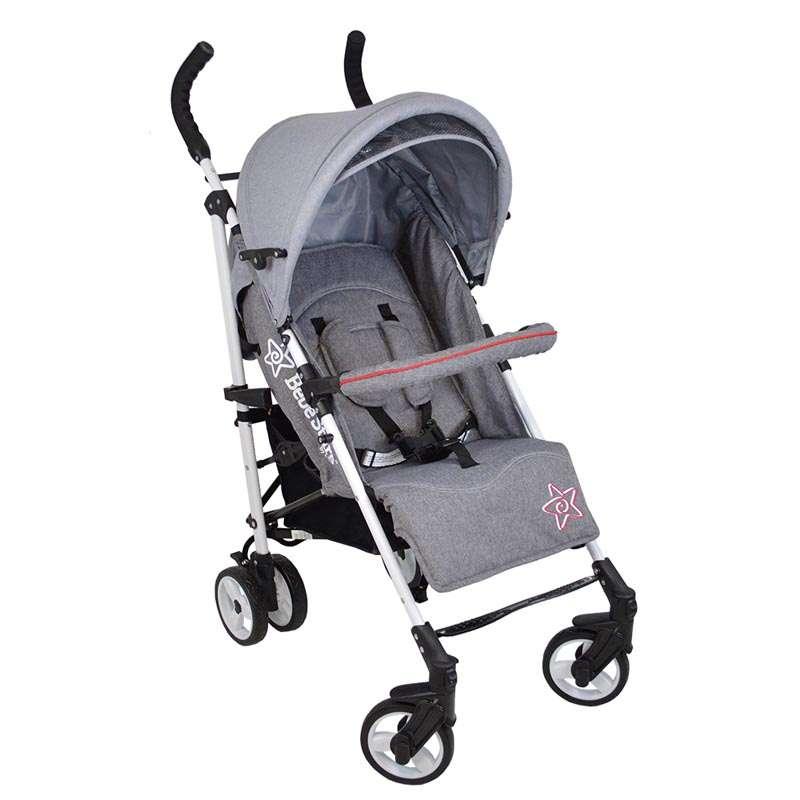 Καρότσι Adam Bebe Stars Grey 185-188 βόλτα   ασφάλεια   μετακινηση με καροτσι   παιδικά καρότσια ελαφριού τύπου