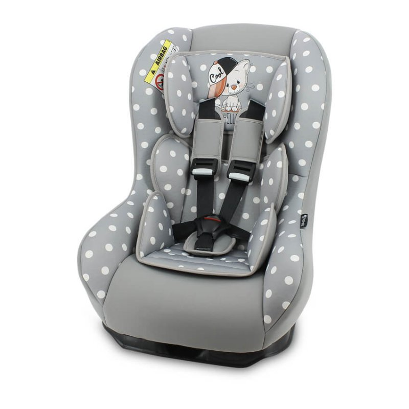 Κάθισμα Αυτοκινήτου Beta Plus 0-18kg Grey Cool Cat Lorelli