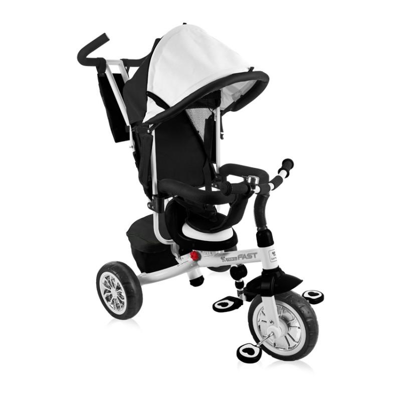 Παιδικό Ποδηλατάκι Τρίκυκλο Lorelli B302A Black&White