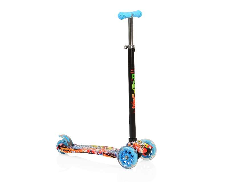 Moni Παιδικό Πατίνι Scooter Rapture με Φωτιζόμενες Ρόδες Blue