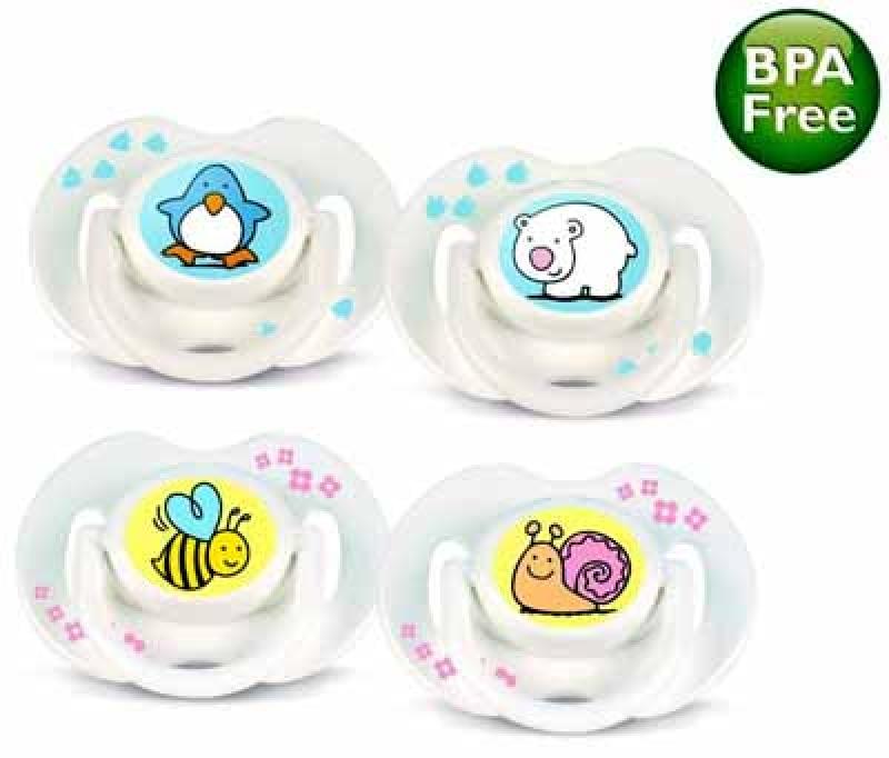 2 ΠΙΠΙΛΕΣ ΣΙΛΙΚΟΝΗΣ BPA FREE 0-6 Μηνών Philips Avent