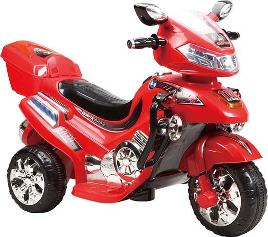 Ηλεκτροκίνητη Μηχανή 6Volt C031 Red Cangaroo