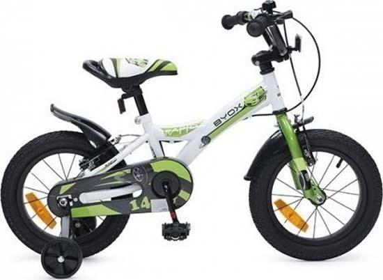 """Παιδικό Ποδήλατο Byox Rapid 14"""" Green Cangaroo"""