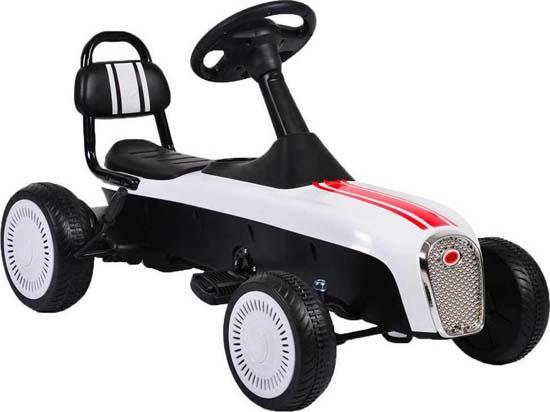 Παιδικό Αυτοκινητάκι Go Kart Retro K02 White Cangaroo