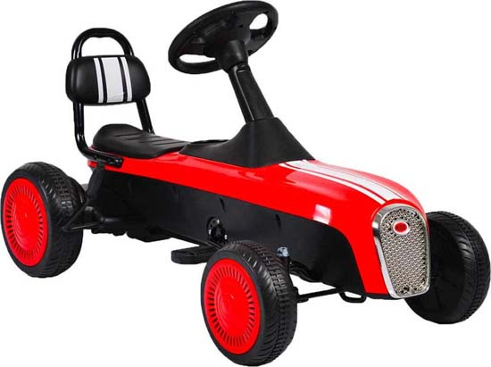 Παιδικό Αυτοκινητάκι Go Kart Retro K02 Red Cangaroo