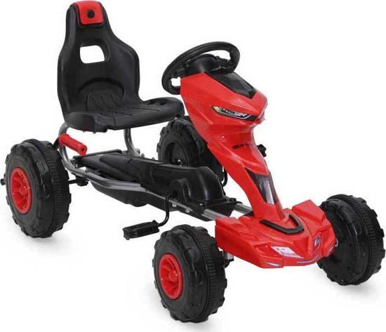 Παιδικό Αυτοκινητάκι Go Kart Rush Red Cangaroo