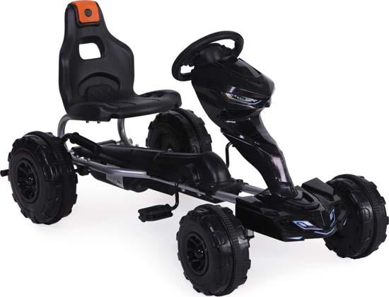 Παιδικό Αυτοκινητάκι Go Kart Rush Black Cangaroo