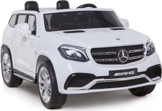 Ηλεκτροκίνητο Αυτοκίνητο Mercedes Benz GLS63 AMG HL228 White Cangaroo