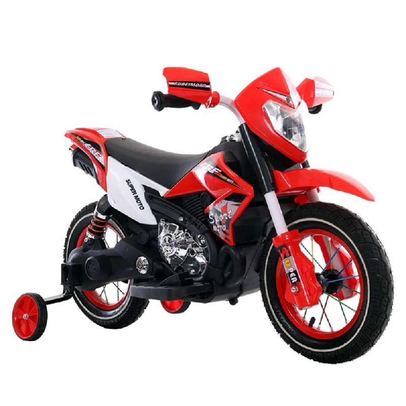 Ηλεκτροκίνητη Μηχανή 6V Super Moto FB-6186 Red Moni