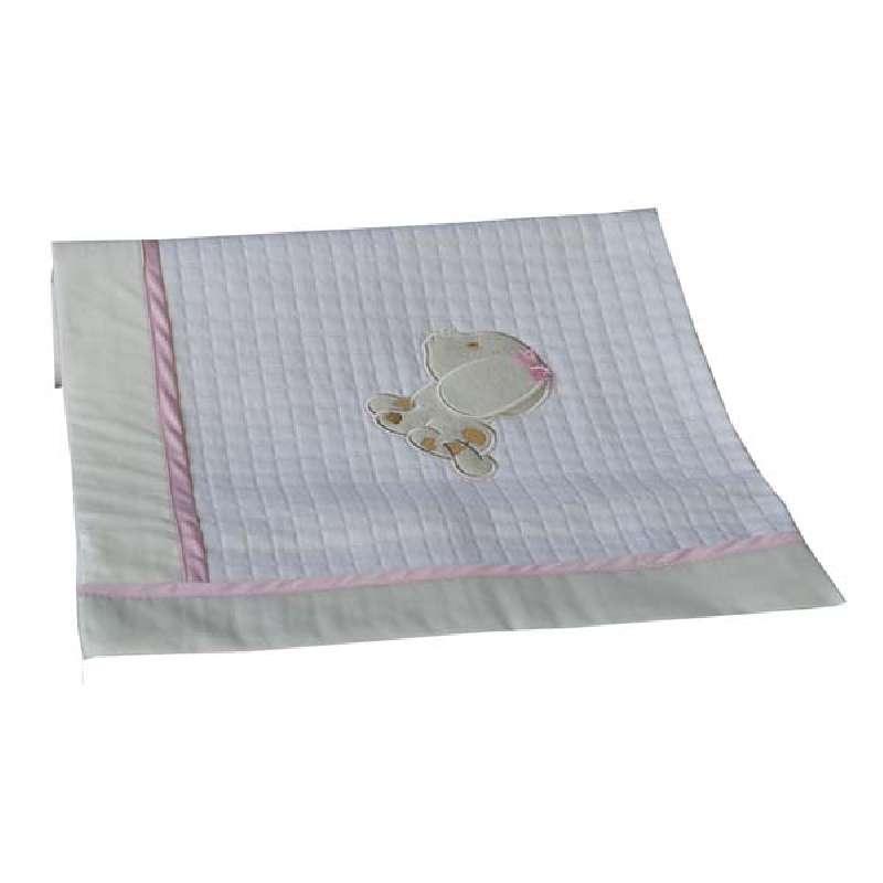 Κουβέρτα Πικέ Αγκαλιάς Puppy Bebe Stars home   away   λευκά είδη   λευκά είδη βρεφικά   κουβέρτες βρεφικές